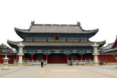 Ancient Chinese traditional architectural style Stock Photos