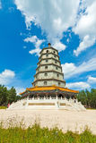 Ancient Chinese Traditional Buildings Royalty Free Stock Images