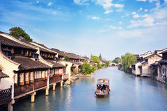 The ancient Chinese village. Royalty Free Stock Photos