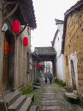 Ancient chinese village in south china,Changle. Traditional architecture in Zhejiang province Lanxi, Changle village Stock Images