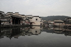 Ancient chinese village in south china, hongcun Royalty Free Stock Photography