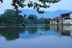 Ancient chinese village in south china, hongcun Royalty Free Stock Photo