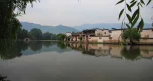 Ancient chinese village in south china, hongcun Royalty Free Stock Image