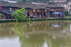 Ancient chinese village in south china,Zhugecun. Zhuge Village or Zhugecun is a historic Chinese village located in Lanxi, Zhejiang Province. Originally called royalty free stock photography