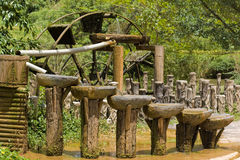Ancient Chinese water circulation system Stock Photography