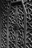 Ancient Chinese Wood Door Stock Images