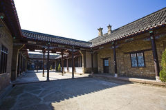 Ancient chinese yard Stock Image