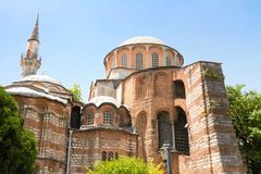 Ancient Chora Church. Chora Church (Saint Irina), Istanbul Stock Photography