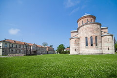Ancient Christian Cathedral Royalty Free Stock Images