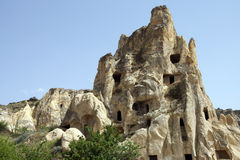 Ancient Christian cave churches Royalty Free Stock Photography