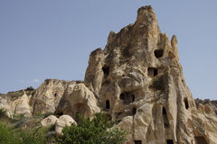 Ancient Christian cave churches Stock Images