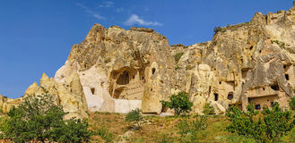 Ancient Christian cave churches Royalty Free Stock Photo