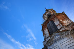 Ancient Christian church in Russia Stock Images
