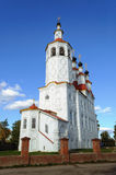 Ancient christian church in Totma Stock Photo