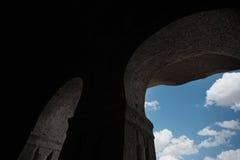 Ancient Christian temple. At Anatolia, Turkey Royalty Free Stock Photos