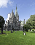 Ancient Chrurch, Trondheim, Norway Royalty Free Stock Images