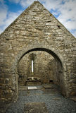 Ancient church. From Aran Island Stock Images