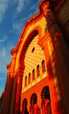 Ancient church. Old ancient church - Uzhhorod, Ukraine Royalty Free Stock Photo