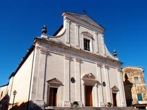 Ancient church stock image