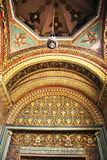 Ancient church in Armenia stock image