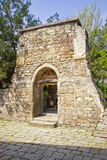 Ancient church building. Old portal next to the church of Saint Sarkis Royalty Free Stock Images