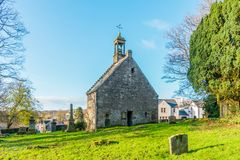 Ancient Church Building Scotland. Stock Image