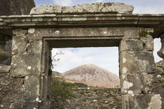 Ancient Church of Cill Chriosd on the Isle of Skye. Stock Photos
