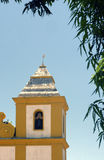 Ancient church in colonial style in southern Bahia, Brazil Royalty Free Stock Photography