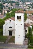 Ancient church of Conegliano Veneto royalty free stock photos