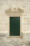 Ancient church door Royalty Free Stock Photography