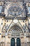 Ancient church door Stock Images