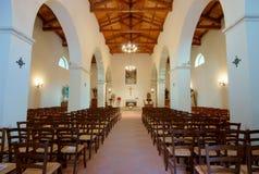 Ancient church of Faifoli (Molise, center Italy) Royalty Free Stock Photo