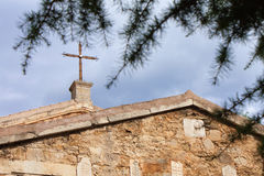 Ancient church in Feodosia, Crimea, Ukraine Stock Photography