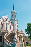 Ancient Church in Gothic Style Stock Photography