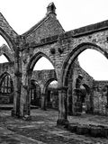 Ancient Church in Heptonstall Stock Photography