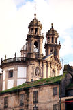 Ancient Church In Pontevedra Stock Image