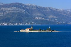 Otok Church Montenegro Stock Image