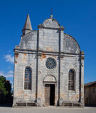 Ancient church in Istria Stock Photo