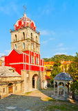 Ancient church in Iviron monastery Royalty Free Stock Photo