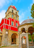 Ancient church in Iviron monastery Royalty Free Stock Photography