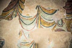 Ancient church mosaic royalty free stock photos