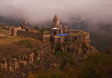 Ancient church in mountains Royalty Free Stock Photography