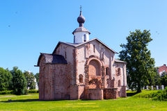 The ancient church in Novgorod the Great Stock Images