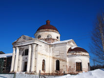 Ancient old Russian Church. Stock Photography