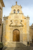Ancient church in old town of a southern Italy village Royalty Free Stock Images