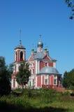 Ancient church in Pereslavl Stock Photo