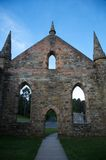 Ancient church in Port Arthur, Tasmania, Australia Stock Photography