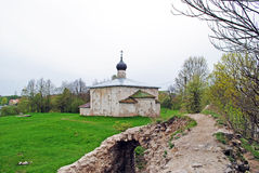 Ancient church in Pskov Royalty Free Stock Photo