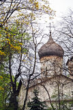 Ancient church in Pskov Royalty Free Stock Photos