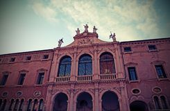 Ancient church of Saint Vicent called San Vincenzo in Vicenza Ci Royalty Free Stock Images